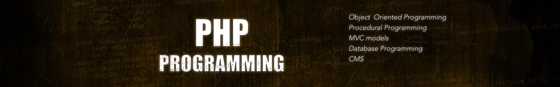 Custom PHP Programming